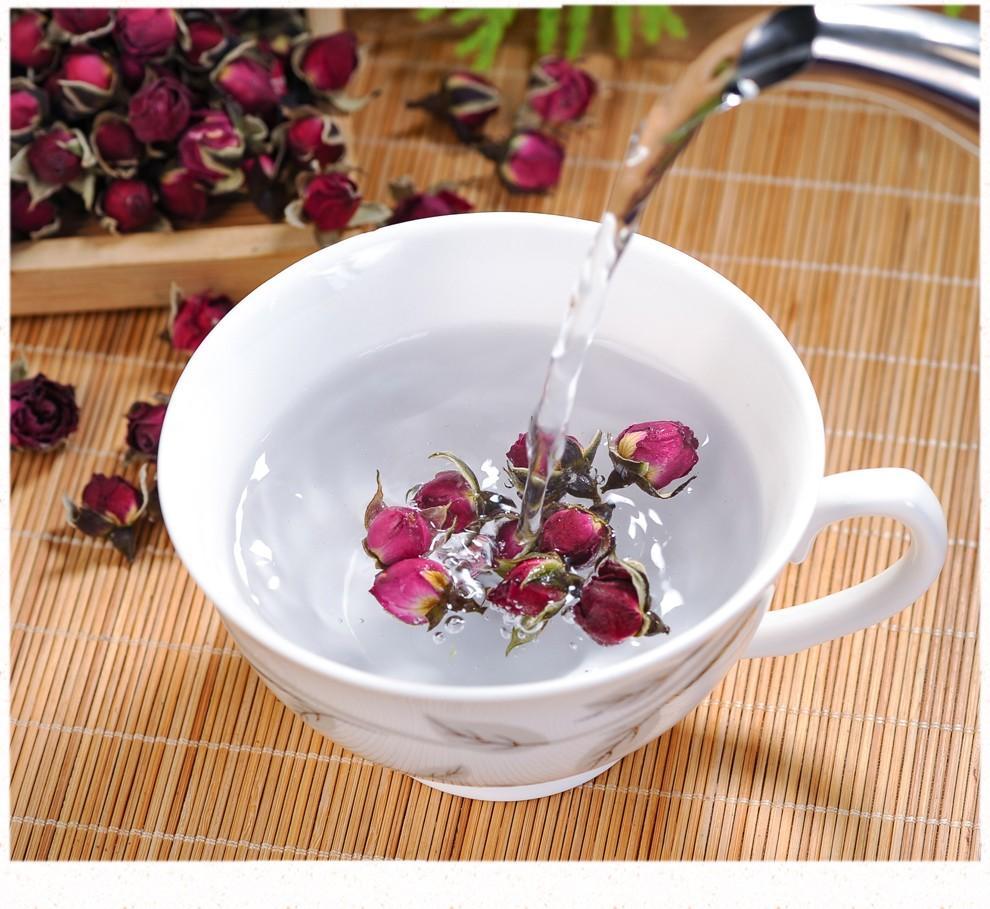 玫瑰花茶的4种泡法