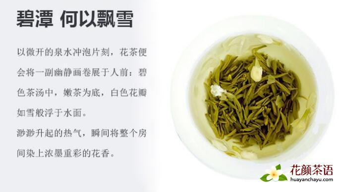"""记茉莉花茶""""碧潭飘雪""""创始人徐金华"""